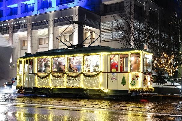 クリスマス電車イメージ